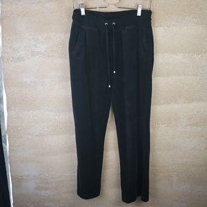 French Laundry Velour Pants Sz M